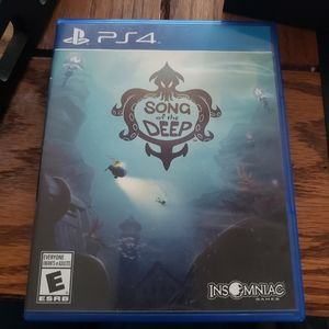 Song of the Deep PS4 game